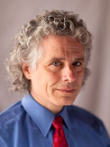"""When I first became aware of Steven Pinker I didn't think it would be long before I heartily disliked him.  But listening to him always reminds me of reading something I'd written myself a while back, then forgotten about.  Because we are both experimental psychologists and of the same vintage, I'm obviously going to be able to dispute loads of stuff in the area with him, even though it's obviously more his speciality.  But also, presumably because of the similarities (my personal tutor for my BSc had even studied at McGill), I find our general scientific outlooks are very similar.  He also seems to avoid making gigantic errors, unlike a lot of people I could mention.  Even the apparent contradiction some see in his book claiming each human is simply a tabla rasa arena for barely disguised utilitarianism, followed by another saying we are not just getting nicer but perhaps we are basically nice, doesn't tempt me in (though his first did tempt Elaine...).So instead of trying to pretend he's a load of rubbish, I'll just point out that the very important position on the nature of language he's working from is a lot more subtle and a lot less well understood than many people, even he, appreciates.   Etc... (see text.)  And it means """"a bacteria"""" IS wrong, and there's nothing wrong with those of us who so say so.Image by Rebecca Goldstein and SP via Wikipedia"""