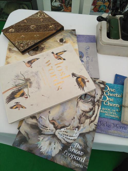 Jackie Morris illustrated books Hay 2018.